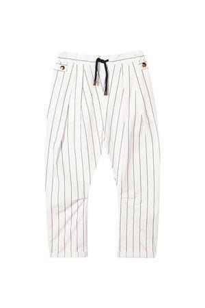 Pantaloni bianchi Brunello Cucinelli kids Brunello Cucinelli Kids | 9 | BH221P101C001