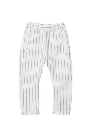 Pantaloni bianchi teen Brunello Cucinelli kids Brunello Cucinelli Kids | 9 | BH221P101C001T