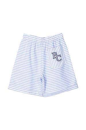 Shorts teen gessati Brunello Cucinelli Kids Brunello Cucinelli Kids | 30 | BQ674L205C030T