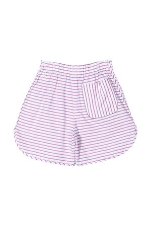 Shorts teen a righe Brunello Cucinelli Kids Brunello Cucinelli Kids | 30 | BQ674L305C117T