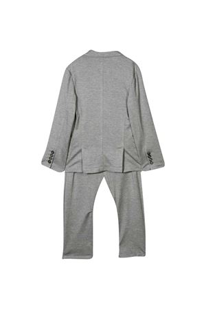 Two-piece suit with  Brunello Cucinelli kids embroidery Brunello Cucinelli Kids | 11 | BQ858A117C683