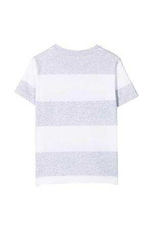 T-shirt teen Be Conscious a righe Brunello Cucinelli Kids Brunello Cucinelli Kids | 1169408113 | BQ865T132C003T