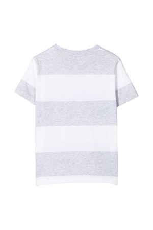 T-shirt Be Conscious a righe Brunello Cucinelli Kids Brunello Cucinelli Kids | 1169408113 | BQ865T132C003