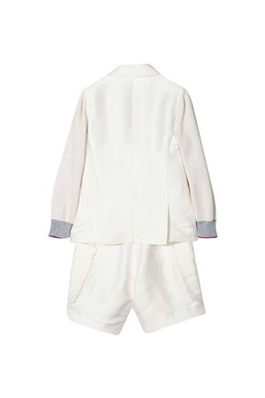 Completo bianco teen Brunello Cucinelli Kids Brunello Cucinelli Kids | 11 | BW415A113C5831T