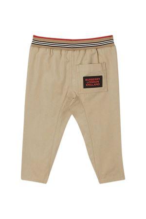 Pantaloni beige Burberry kids BURBERRY KIDS | 9 | 8030129A1366