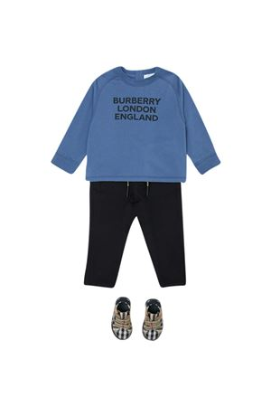 Pantalone nero Burberry kids BURBERRY KIDS | 9 | 8030130A1189
