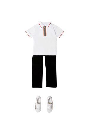 Polo con dettaglio a righe Burberry kids BURBERRY KIDS | 2 | 8036412A1464