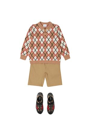 Burberry Kids beige bermuda BURBERRY KIDS | 30 | 8036431A1366