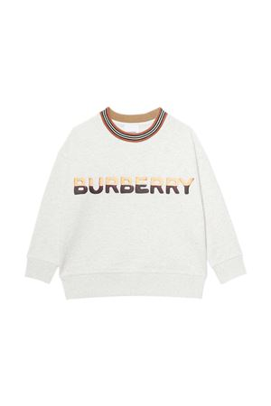 Felpa bianca Burberry Kids BURBERRY KIDS | -108764232 | 8036927A4807