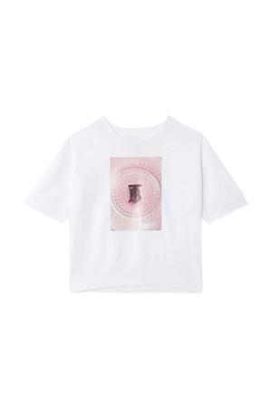 Burberry Kids white t-shirt  BURBERRY KIDS | 8 | 8036935A1464