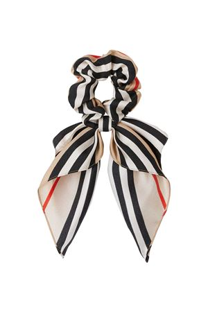Cravatta con iconico motivo a righe Burberry kids BURBERRY KIDS | 77 | 8038395A7026