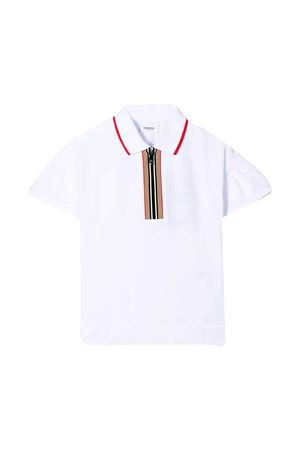 Polo con zip Burberry kids BURBERRY KIDS | 2 | 8038412A1464