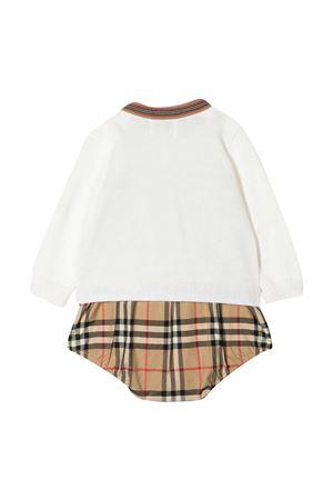 Set con body, cardigan e berretto Burberry kids BURBERRY KIDS | 75988882 | 8038513A7028