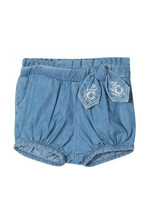 Shorts denim Chloé kids con fiocco CHLOÉ KIDS | 30 | C04187Z10