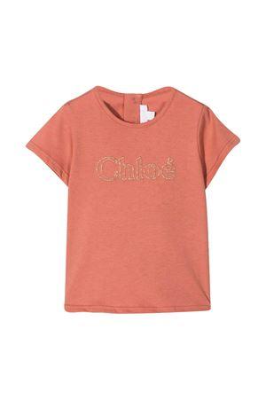 T-shirt mattone Chloé kids CHLOÉ KIDS | 8 | C05365366