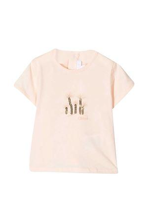 T-shirt pesca Chloé Kids CHLOÉ KIDS | 8 | C0536745F