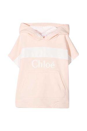 Felpa rosa Chloè kids con cappuccio CHLOÉ KIDS | -108764232 | C15B8045F
