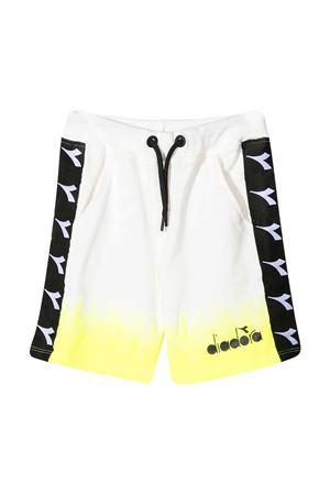 White teen Diadora Junior shorts DIADORA JUNIOR | 5 | 026964023T
