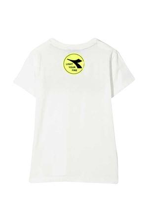 T-shirt bianca teen Diadora kids DIADORA JUNIOR | 8 | 026968002T