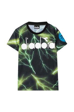 T-shirt verde teen Diadora kids DIADORA JUNIOR | 8 | 026969110/28T