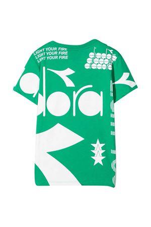 T-shirt verde teen Diadora Junior DIADORA JUNIOR | 8 | 026978080T