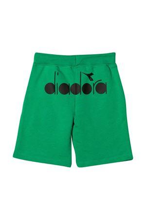 Diadora Junior teen green shorts  DIADORA JUNIOR | 5 | 026984080T