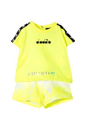 Completo giallo fluo Diadora kids DIADORA JUNIOR | 42 | 027399023