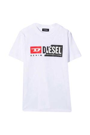 T-shirt bianca teen Diesel Kids DIESEL KIDS | 8 | 00J4YH00YI9K100T