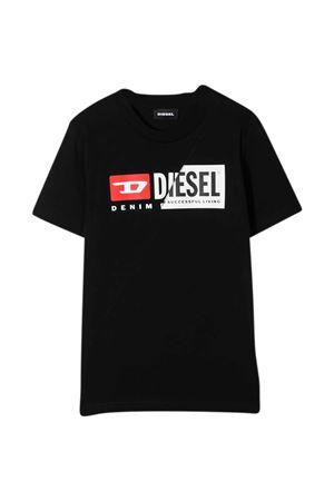 T-shirt nera Diesel Kids DIESEL KIDS | 8 | 00J4YH00YI9K900