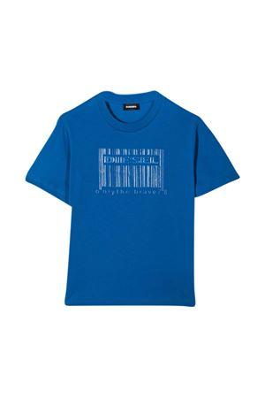 T-shirt blu teen Diesel Kids DIESEL KIDS | 8 | J0003000YI9K8IIT