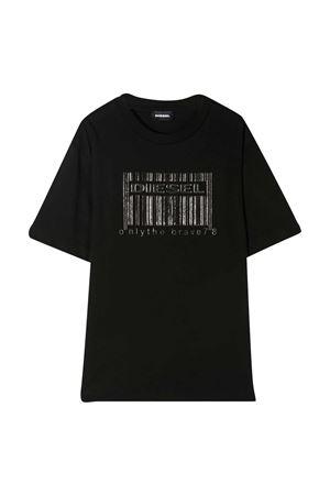 T-shirt nera Diesel kids DIESEL KIDS | 8 | J0003000YI9K900