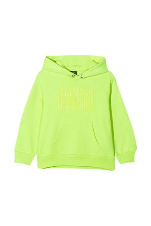 Fluorescent green Diesel Kids sweatshirt  DIESEL KIDS | -108764232 | J0004500YI8K51BT