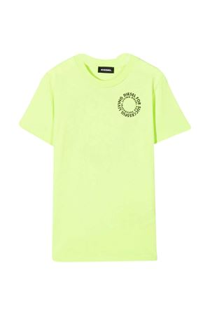 T-shirt verde fluo Diesel Kids DIESEL KIDS | 8 | J0010300YI9K51B