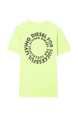 T-shirt verde fluo teen Diesel Kids DIESEL KIDS | 8 | J0010300YI9K51BT