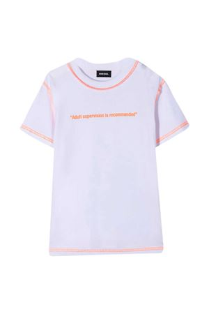 T-shirt bianca teen Diesel Kids DIESEL KIDS | 8 | J00107KYAR1K100T