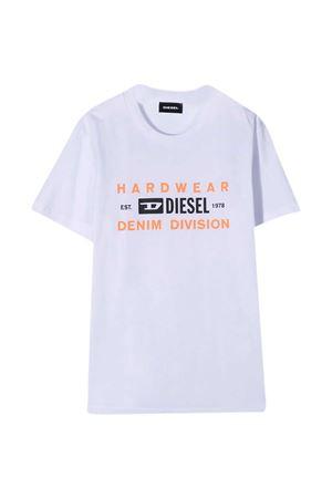 T-shirt bianca Diesel Kids DIESEL KIDS | 8 | J00110KYAR1K100