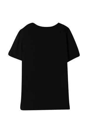 T-shirt nera con stampa Diesel kids DIESEL KIDS | 8 | J00110KYAR1K900