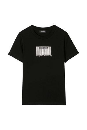 T-shirt nera teen Diesel kids DIESEL KIDS | 8 | J0011500YI9K900T