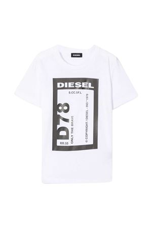 T-shirt bianca Diesel kids DIESEL KIDS | 8 | J0017000YI9K100