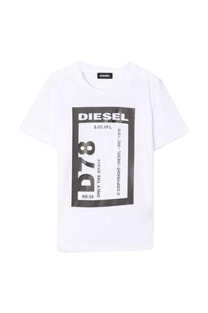 T-shirt bianca teen Diesel kids DIESEL KIDS | 8 | J0017000YI9K100T
