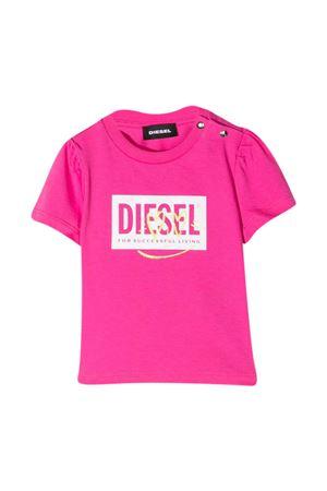 Fuchsia Diesel kids t-shirt  DIESEL KIDS | 8 | K0001800YI9K302