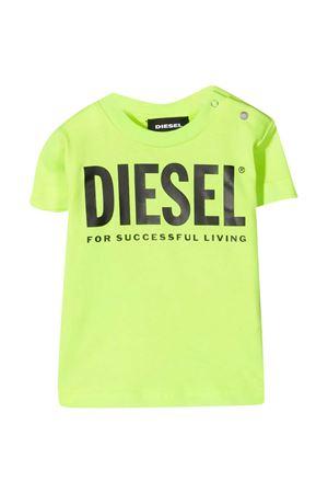 T-shirt giallo fluo Diesel Kids DIESEL KIDS | 8 | K0005200YI9K51B