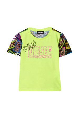 Green Diesel Kids t-shirt  DIESEL KIDS | 8 | K00060KYARPK900