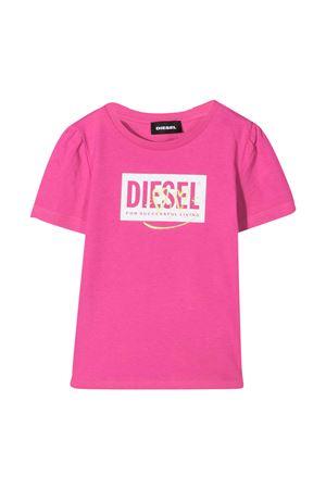 Diesel Kids fuchsia t-shirt  DIESEL KIDS | 8 | K0006300YI9K302