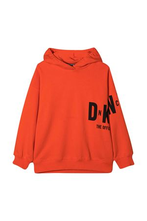 Felpa teen con stampa Dkny kids DKNY KIDS | -108764232 | D25D46982T