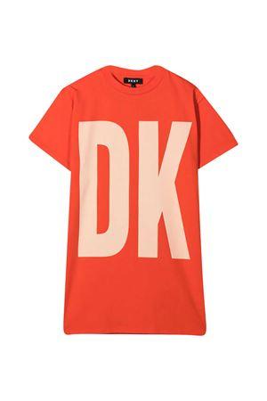 Teen T-shirt dress with Dkny kids print DKNY KIDS   11   D32777982T