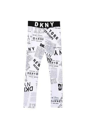 White Dkny Kids leggings  DKNY KIDS | 411469946 | D34A12N50