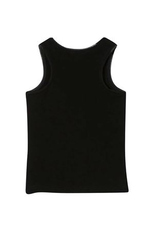 Black teen Dkny Kids tank top  DKNY KIDS | 485524886 | D35R2109BT