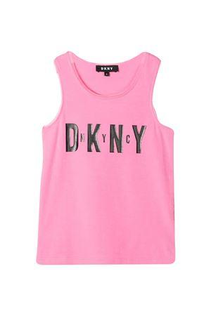 Canotta rosa teen Dkny Kids DKNY KIDS | 485524886 | D35R2144GT