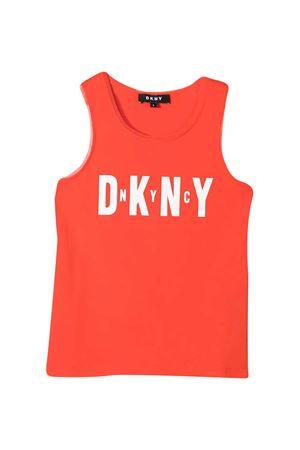 Red Dkny Kids tank top  DKNY KIDS | 485524886 | D35R21982